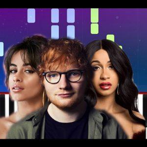 10° Ed Sheeran Feat. Camila Cabello e Cardi b - South Of The Border